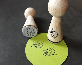 Stamp cone ladybug