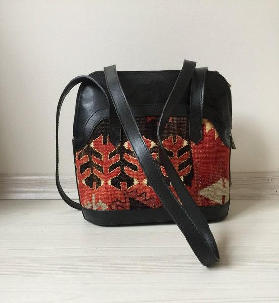 turkish kilim bag,12x10 inc,30x26cm,otantic bag,sh