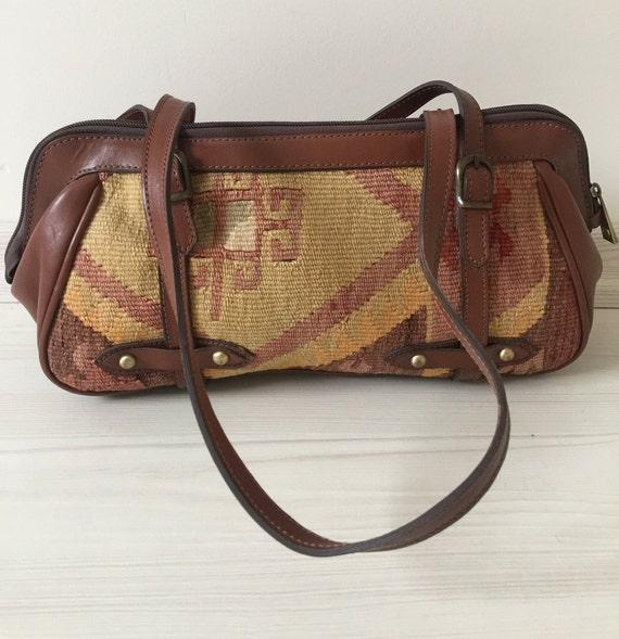 turkish kilim bag,15x6 inc,38x16cm,otantic bag,sho