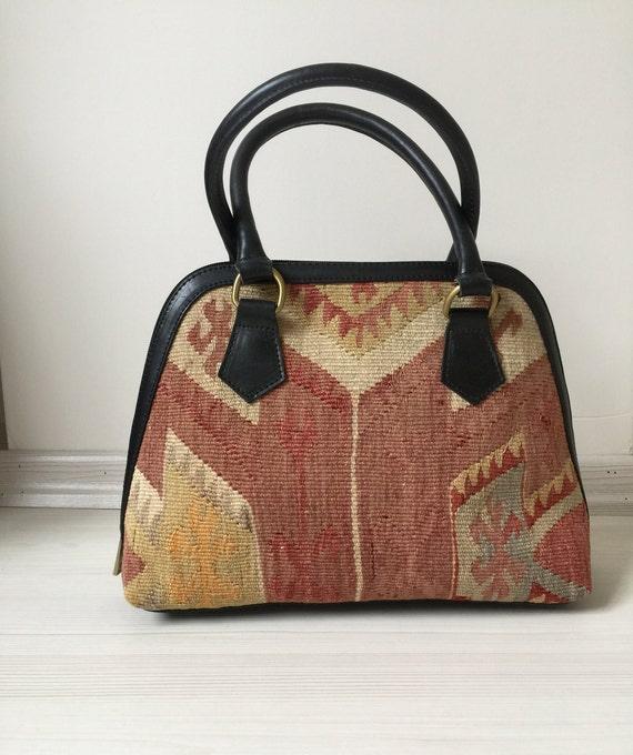 turkish kilim bag,14x10 inc,34x16cm,otantic bag,sh