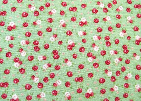 Sustancia METERWARE flores rosa blanco tela decorativa flores de tela niños sustancia