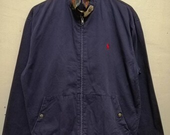 a4c058dfe Vintage Polo ralph lauren jacket zip up jacket