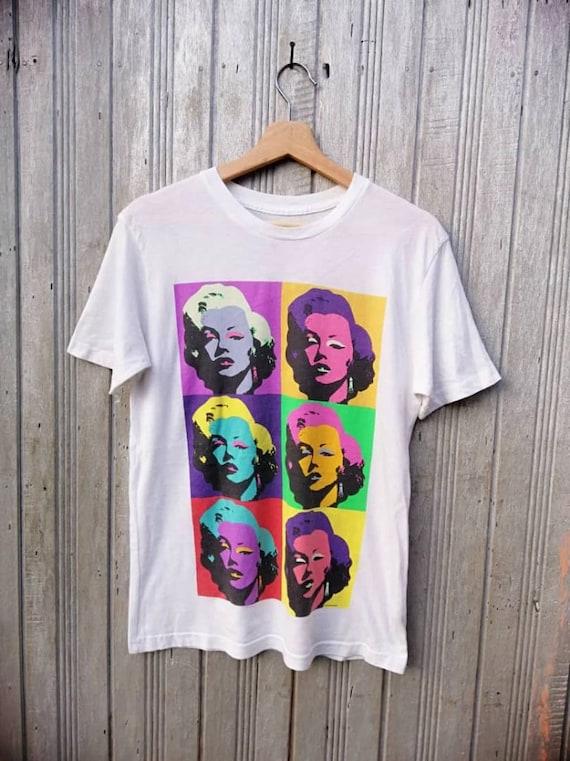 FREE SHIPPING!!! Vintage 80s marilyn monroe tshirt