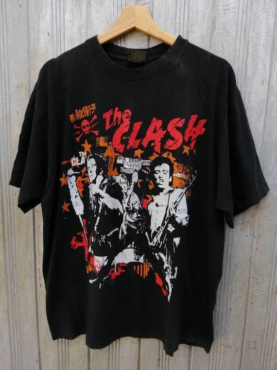 FREE SHIPPING!!! Vintage The Clash Band Tshirt Xla