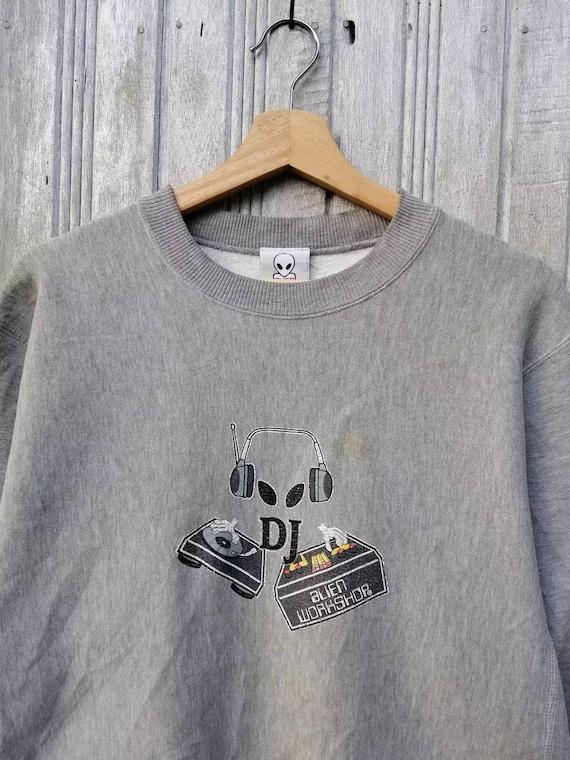 Rare!!! Vintage Alien Workshop Sweatshirt Large Si