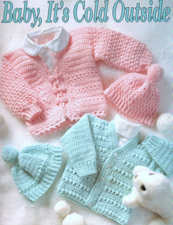 baby sweater and sailor toy knitting pattern 99p