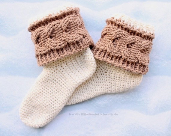 Pdf Häkelanleitung Socken Impression Gr 34 43