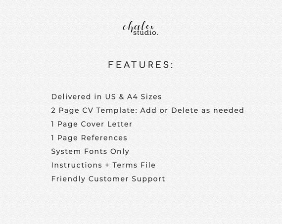 Ats Resume Template Traditional Resume Classic Resume Professional Cv Template Word Curriculum Vitae Clean Resume Basic Cv 1 2 Pages