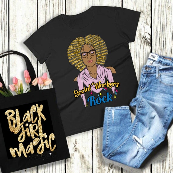 Sexy schwarze Mädchen-Shoirt