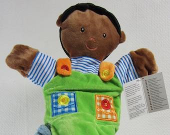 Little Boy Glove Puppet Age 1+ Plush Cuddly