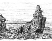Manstone Rock, Stiperstones, Shropshire