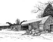Sawmill, Wytham Woods, Oxfordshire
