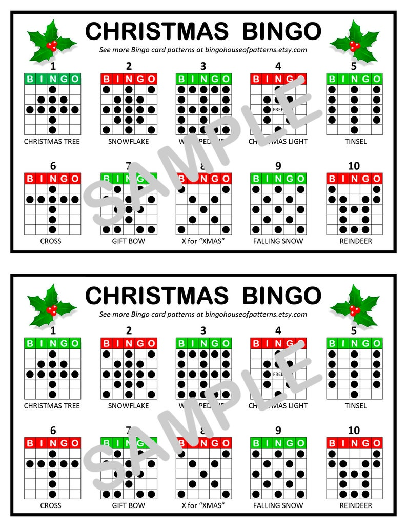 Bingo Patterns