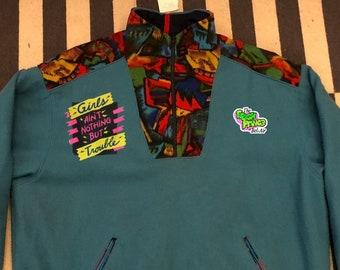 The Fresh Prince of bel air Germany sweatshirt sweater Vintage - Sz 2XL