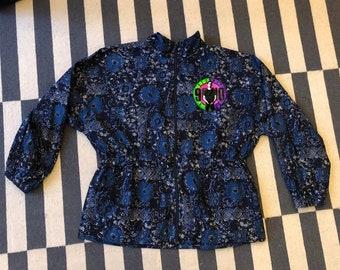Beverly hills 90210 Vintage adidas jacket 90s 80s brandon - women size L-XL