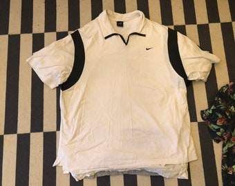 Nike Andre Agassi Polo Shirt Vintage 90s - men Sz XL