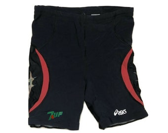 7up soda cycling shorts Vintage 90s gym - men sz M (1)