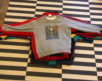 Bart simpson Sweatshirt Dude marijuana Vintage 90s Germany - men Sz M(Nov 11)