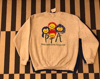 Lee USA sweatshirt sweater Vintage - Sz L