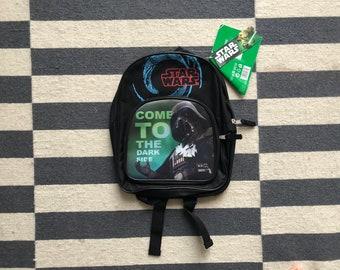Star Wars Darth vader backpack shoulder bag Fanny 90s vintage Shoulder bag - size Small