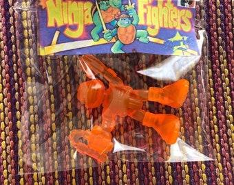 Michael Angelo Ninja Fighters Turtles TMNT Toy SONRICS Mexican Bootleg vintage 90s