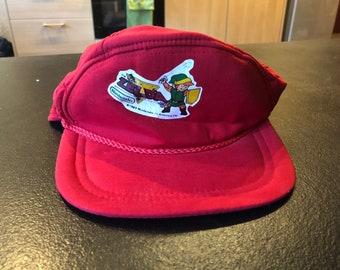 Link Zelda nintendo Men Cap Hat vintage 90s - Size M