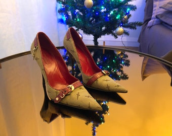 Women heels shoes made in italy - size 41