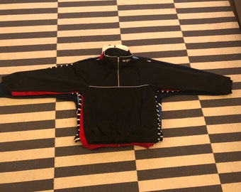 sweatshirt Jacket Vintage 90s 80s -  men Sz S