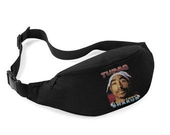 Tupac rap Fanny bag pack vintage fanny pack 90s