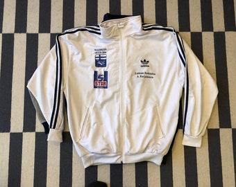 adidas Vintage white jacket 90s 80s - men size L