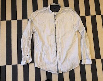 Zara casual Shirt Vintage - men Sz XL slim