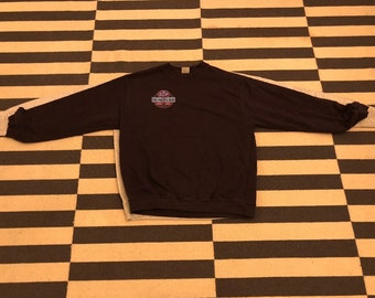 STP oil sweatshirt Vintage 90s Europe - Sz Men S (Nov10)