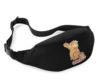 Garfield cat tv show camera red Fanny bag pack vintage fanny pack 90s