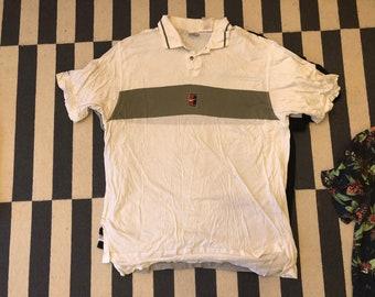 Nike Andre Agassi Polo Shirt Vintage 90s court tennis - men Sz L