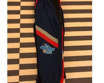 NFL New England Patriots windbreaker Pants vintage 90s Super Bowl - Sz L men