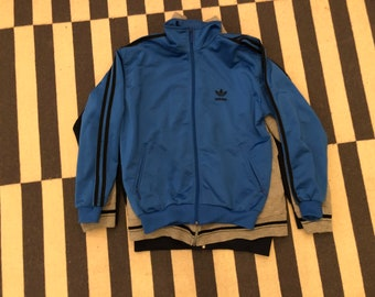 adidas blue Germany Vintage jacket 90s 80s - men size S