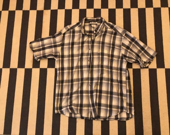 Columbia Shirt beach shirt Vintage 90s - men Sz XL
