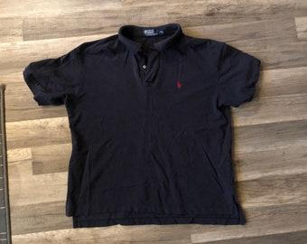 Polo Ralph Lauren Shirt Golf Tennis Dark blue size XL