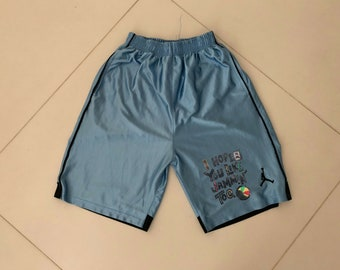 Michael Jordan vintage Shorts Cotton Bob marley 90s - sz M-L men