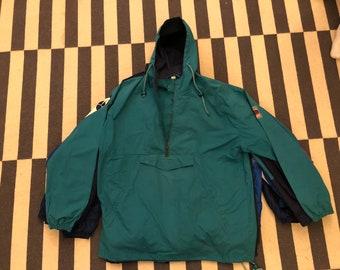 Germany windbreaker Vintage jacket 90s 80s hoodie - men size M