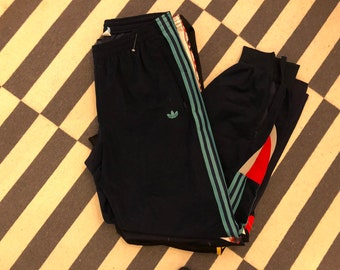 made in Spain Adidas tracksuit Pants vintage 90s - Sz men L