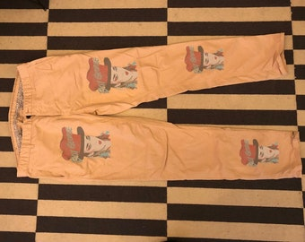 rare Culture Club Boy George zara pants men size 36x30