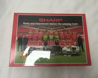 Manchester united SHARP Jigsaw Puzzles vintage David Beckham