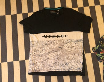 T Shirt beach shirt Vintage 90s - men Sz XL