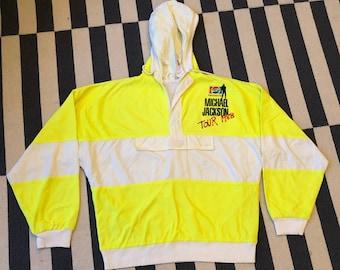 Michael Jackson Pepsi Vintage windbreaker jacket tour 80s - men size M