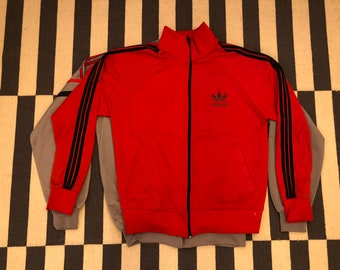 adidas red Germany Vintage jacket 90s 80s - men size L