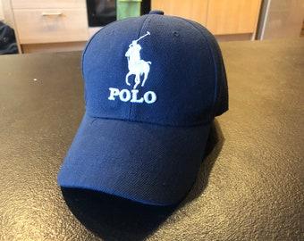 POLO ralph lauren Men Cap Hat vintage 90s - Size L