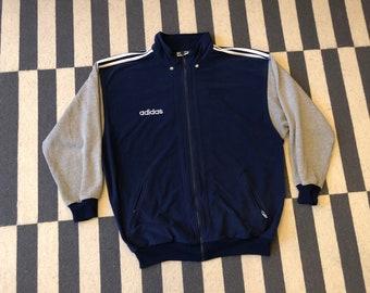 Vintage adidas jacket 90s 80s - men size L