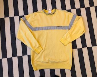 Vintage adidas sweatshirt 90s 80s - men size M-L