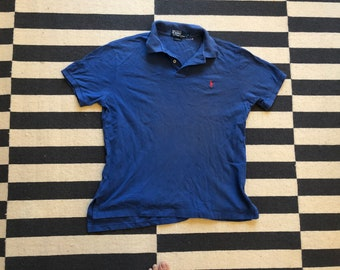 Polo Ralph Lauren Shirt Golf Tennis Dark blue size L(Nov 11)